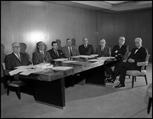 Primary view of object titled '[Board of Regents Board Meeting, 1962]'.
