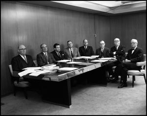 Primary view of object titled '[Board of Regents Board Meeting (2), 1962]'.