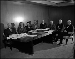 Primary view of object titled '[Board of Regents Board Meeting (4), 1962]'.