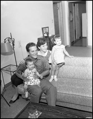 Primary view of object titled '[Boone, Pat - and Family - 1956]'.