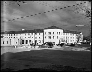 Primary view of object titled '[Bruce Hall - Exterior - 1953]'.