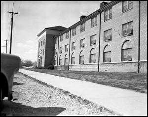 Primary view of object titled '[Bruce Hall - Exterior - 1958]'.