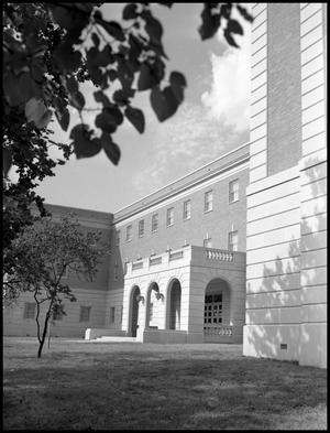 Primary view of object titled '[Business Administration Building - Exterior - 1960 - #1]'.