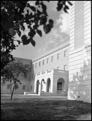 Primary view of object titled '[Business Administration Building - Exterior - 1960 - #2]'.