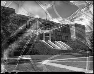 Primary view of object titled '[Business Administration - Building - School of Business - Exterior #1]'.
