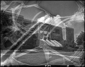 Primary view of object titled '[Business Administration - Building - School of Business - Exterior #3]'.