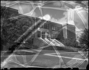 Primary view of object titled '[Business Administration - Building - School of Business - Exterior #4]'.