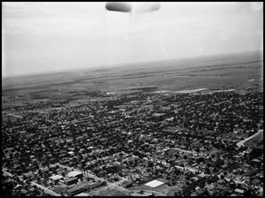 Primary view of object titled '[Campus - Aerial #2 - 7/1950]'.