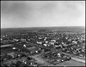Primary view of object titled '[Campus - Bird's Eye #4 - 5/1948]'.