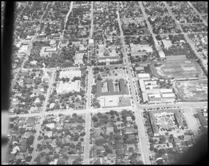 Primary view of object titled 'Campus - Aerial #3 - 5/1948'.