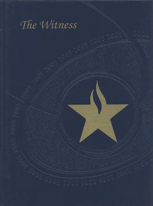 Primary view of object titled 'The Witness, Yearbook of the Texas Academy of Mathematics and Science, 2005'.