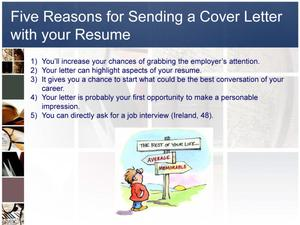 The Importance Of The Cover Letter Why A Resume Is Not Enough Unt Digital Library