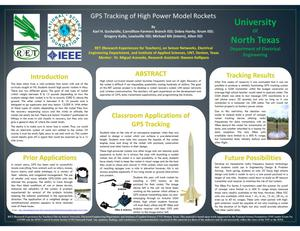Primary view of object titled 'GPS Tracking of High Power Model Rockets'.