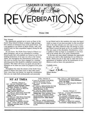Primary view of object titled 'Reverberations, Winter 1988'.