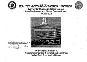 Primary view of object titled 'A10 - Base Input Army - Walter Reed Army Medical Center - DC'.