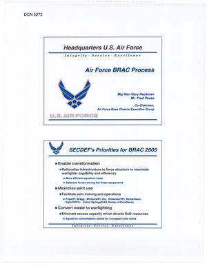 Primary view of object titled 'Air Force Brief'.
