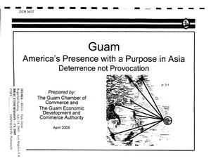 Primary view of object titled 'State Input - Regional Hearing Los Angeles Presentation Handout and CD - Guam'.