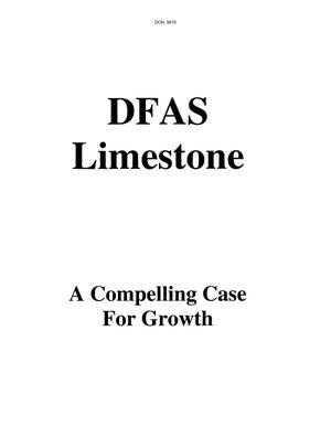 Primary view of object titled 'DFAS Limestone Regional Hearing State Input'.
