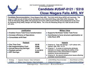 Primary view of object titled 'Quad table USAF 0121 318 candidate recommendation'.