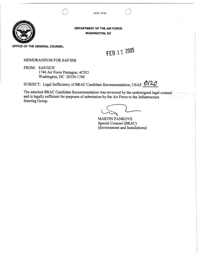 Sample Air Force Letter Of Recommendation