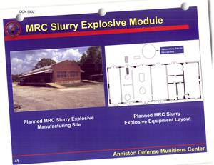 Primary view of object titled 'Anniston Army Depot Combat Vehicle Support Center Installation Familiarization Reference Book'.