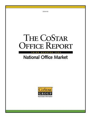 Primary view of object titled 'The CoStar Office Report Third Quarter 2004'.