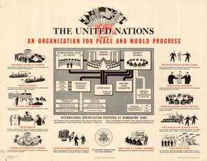 Primary view of object titled 'The United Nations : an organization for peace and world progress.'.