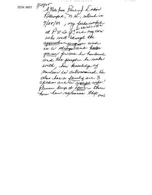 Primary view of object titled 'Letter from concerned citizens to the BRAC Commission'.
