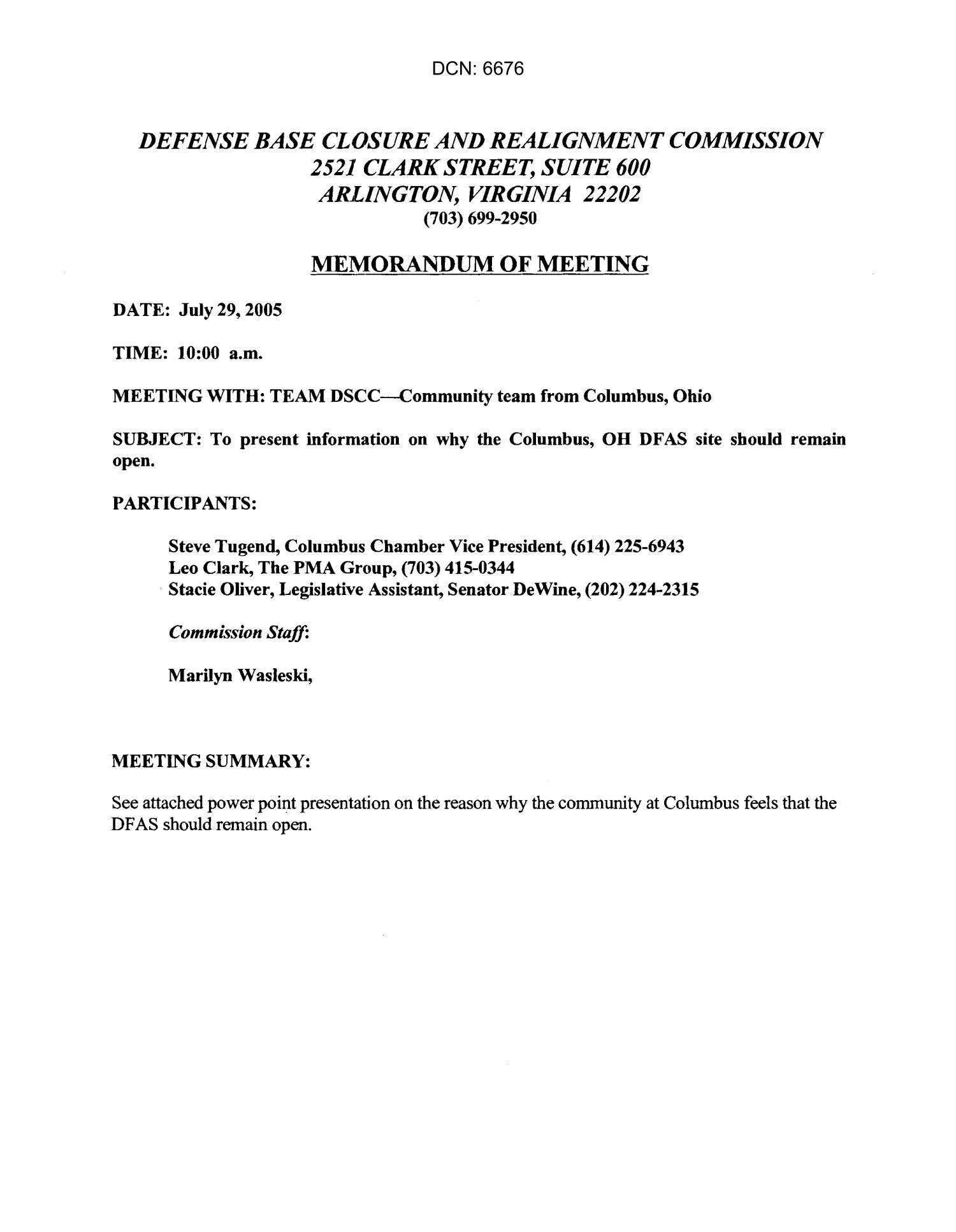 memorandum of meeting defense finance  u0026 accounting