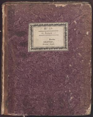 Primary view of Le Huron : comedie en deux actes, et en vers