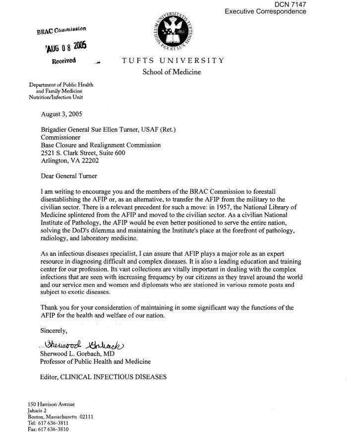 Executive Correspondence Letter Dtd 08 03 05 To Commissioner