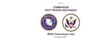 Primary view of object titled 'Base Input - Navy Broadway Complex San Diego - Commander Navy Region Southwest Presentation - August 5, 2005'.