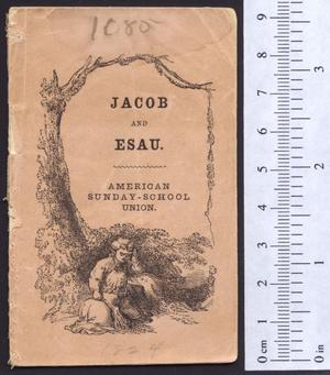 Primary view of object titled 'Jacob and Esau'.