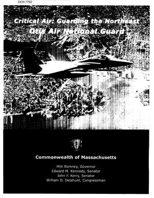 Primary view of object titled 'Community Input - Otis Air National Guard Station'.