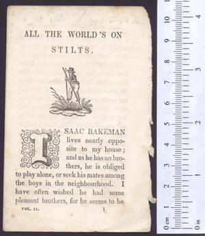 Primary view of All the world's on stilts