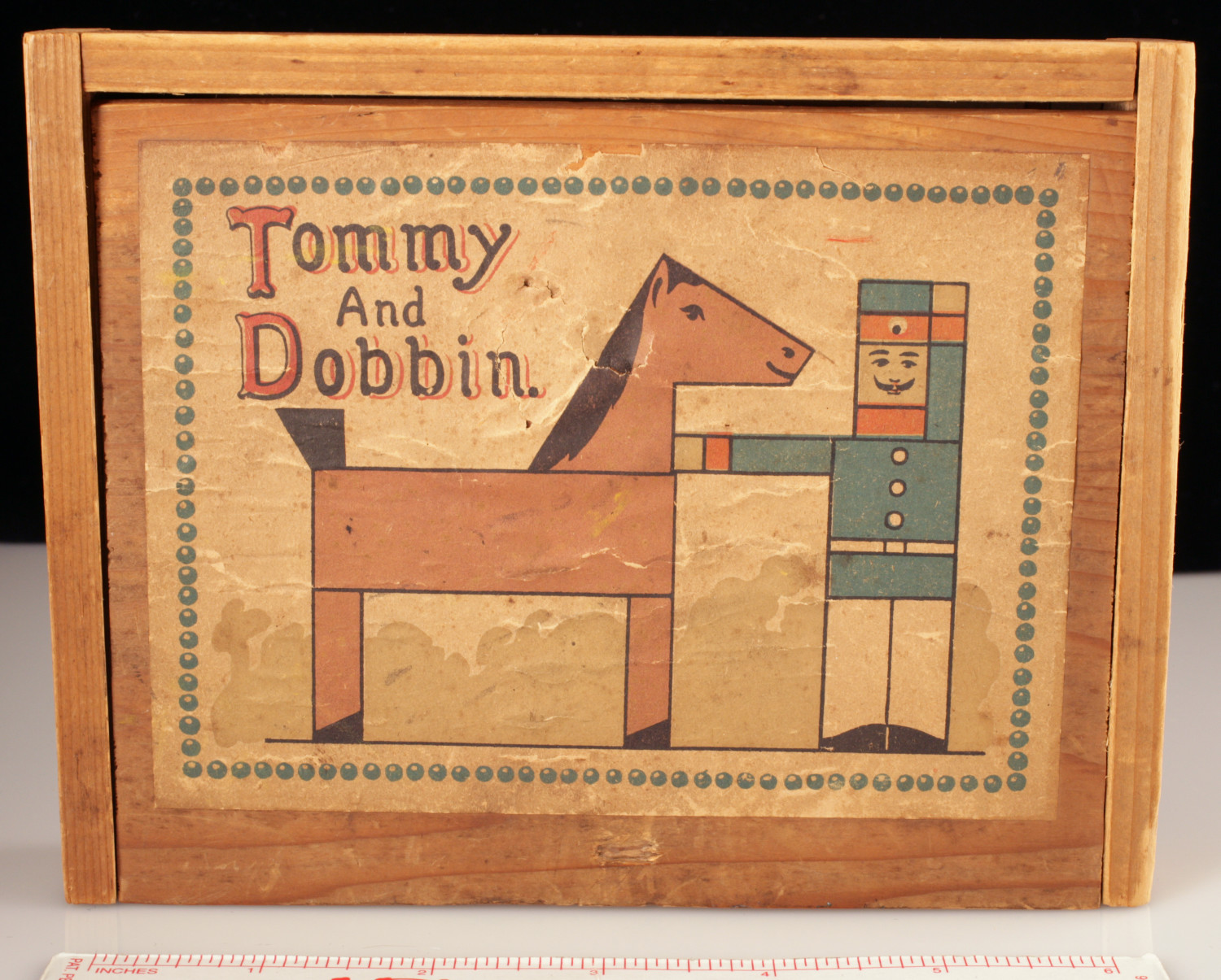 Tommy and Dobbin                                                                                                      [Sequence #]: 1 of 3