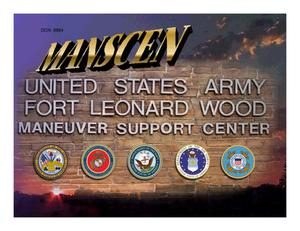 Primary view of object titled 'Fort Leonard Wood Maneuver Support Center Presentation'.