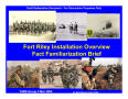 Text: Fort Riley Installation Familiarization Briefing (4 March 04)
