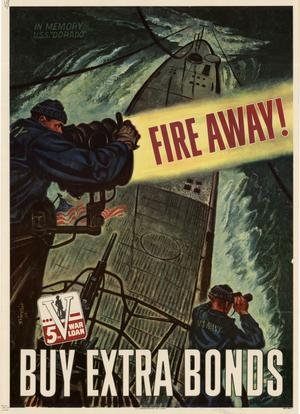 Primary view of object titled 'Fire away! : buy extra bonds.'.