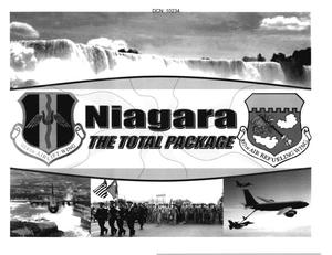 Primary view of object titled 'Base Input from Niagara Falls International Airport Air Guard Station'.