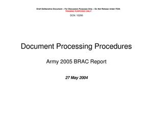 Primary view of object titled 'TABS Training 201 - Session 6 - TABS BRAC Report Control System'.