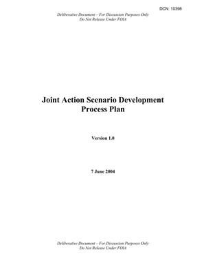 Primary view of object titled 'JAST Scenario Development Process Plan Version 1.0 Final (7 Jun 04)'.