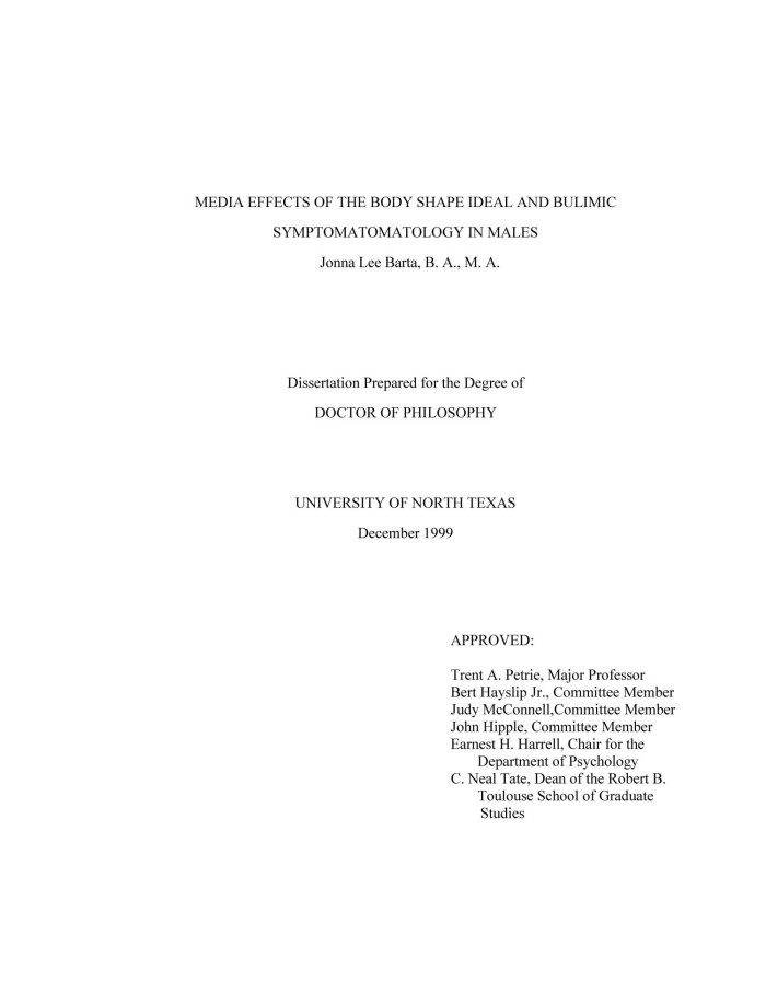 Dissertation Committee
