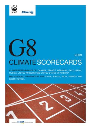 Primary view of object titled 'G8 Climate Scorecards'.