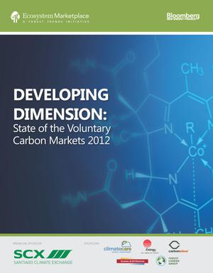 Developing Dimension: State of the Voluntary Carbon Markets 2012