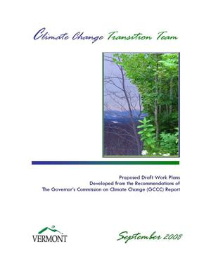 Primary view of object titled 'Climate Change Transition Team Report'.