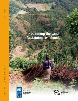 Primary view of object titled 'Reclaiming the Land Sustaining Livelihoods'.