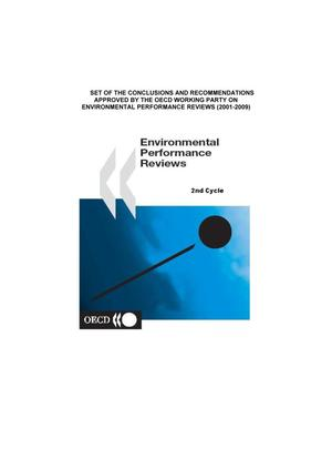 Primary view of object titled 'OECD Environmental Performance Reviews – 2nd Cycle (2001-2009)'.