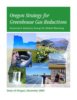 Primary view of object titled 'Oregon Strategy for Greenhouse Gas Reductions'.