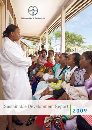 Primary view of object titled 'Sustainable Development Report 2009'.